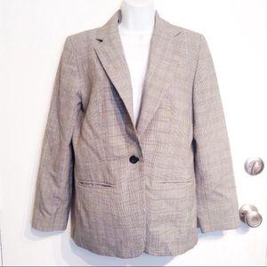 PENDLETON Virgin Wool Checkered Plaid Blazer